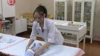 Как правильно пеленать малыша(, 2009-12-15T16:04:47.000Z)