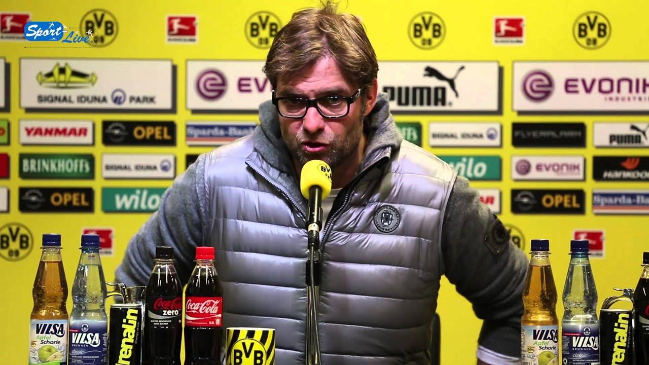BVB Pressekonferenz vom 11. April 2013 vor dem Spiel Greuther Fürth gegen Borussia Dortmund