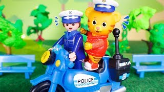 Daniel Tiger´s Toys 🐯 Daniel Tiger helps the police 😀 👨✈️🚔