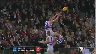 BulldogsTV Mark of the Week - Jordan Roughead (Western Bulldogs, Round 18, 2012)