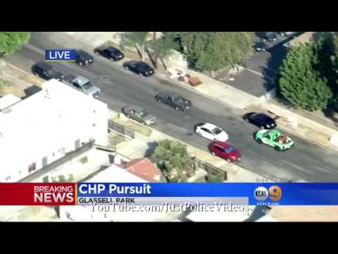 Glendale CA Police Chase July 6th 2017