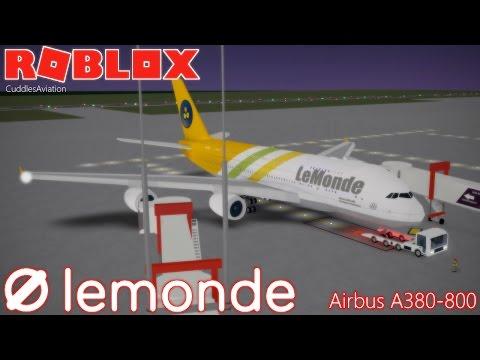 ROBLOX - LeMonde Airlines Airbus A380-800 Premium Economy Flight