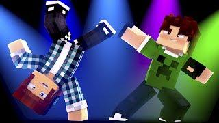 Animação de Minecraft BATALHA DE DANÇA - DANCE BATTLE Minecraft Animation