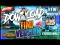 How To Download Pubg Timi And Play In Your Android Devices New Updated!!