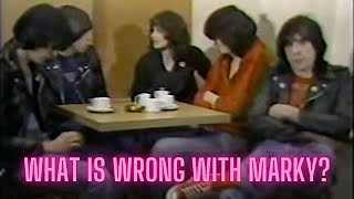 The Ramones sit down for a cup of tea and a chat.