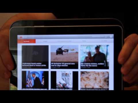 Lenovo Ideapad K1, A Look at the Hardware (Appearances by Xoom and Galaxy Tab)