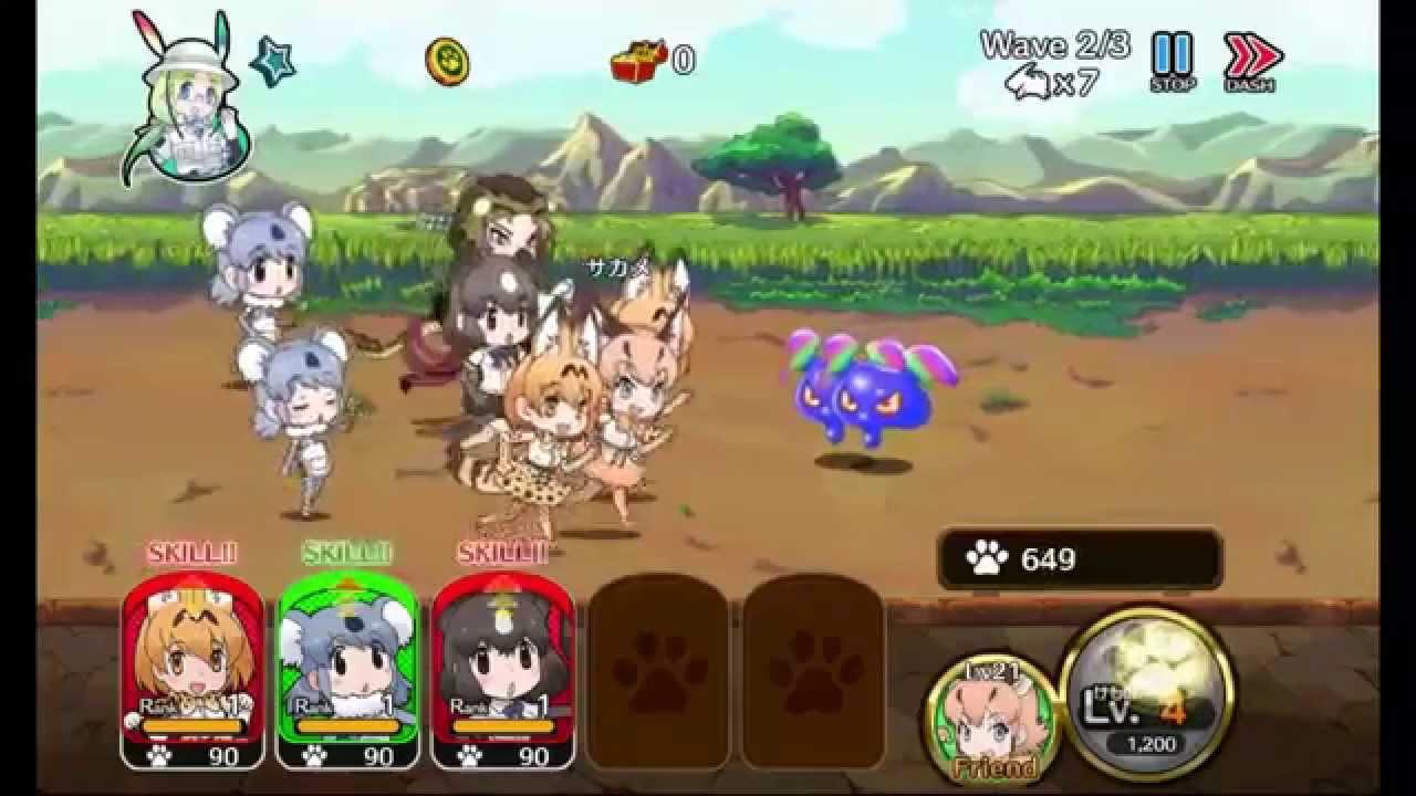 『けものフレンズ』 をプレイしてみました! (Kemono Friends - Gameplay Video ...