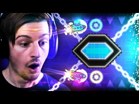 THE GEOMETRY DASH CURSE.. (These levels are getting insane) || Geometry Dash (Part 9)