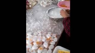 công nghệ làm trứng gà giả ở trung quốc