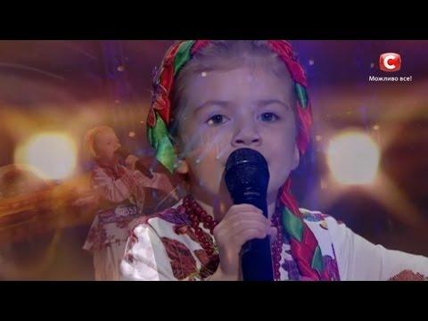 Вероника Морская - Квiтка-Душа - Невероятный голос перепела Нину Матвиенко в 5 лет на \