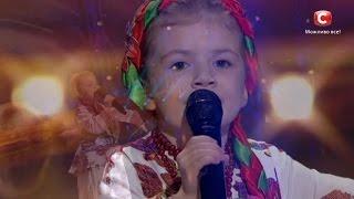 Вероника Морская - Квiтка-Душа - Невероятный голос перепела Нину Матвиенко в 5 лет на 'УМТ'.Діти-2