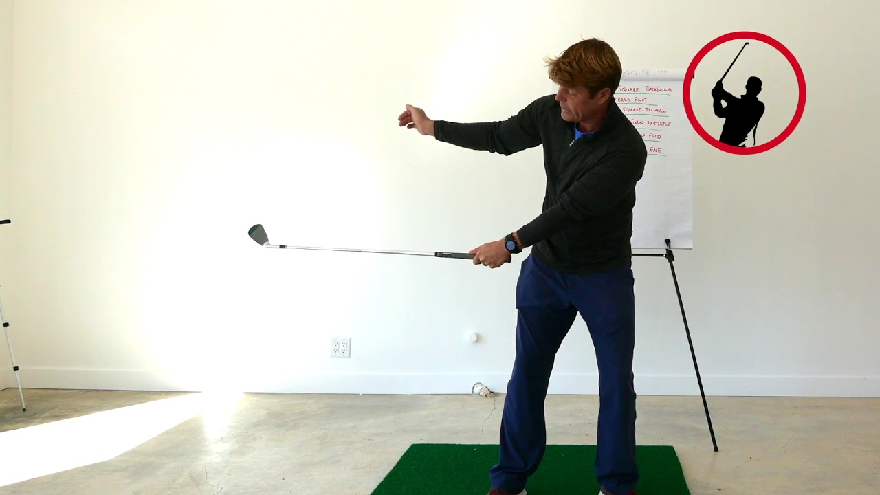 Backswing Feels Square To Square Swing