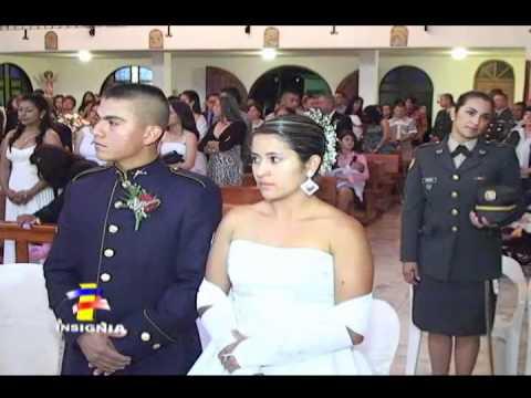 En Rionegro Antioquia, se realiza matrimonio colectivo del Ejército Nacional