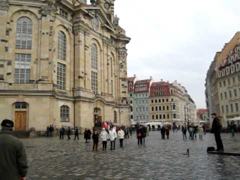 Dresdner Frauenkirche -  Dresden Church of Our Lady Germany