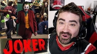 Joaquin Phoenix Joker Reveal - Angry Reaction!