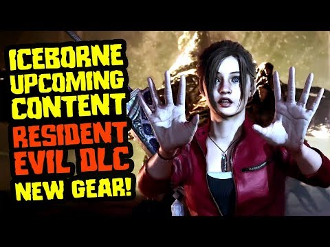 Iceborne Upcoming Content - Resident Evil Crossover in Novem