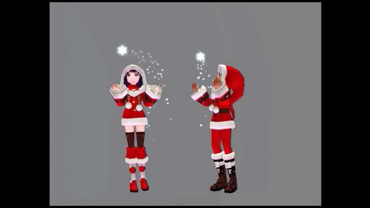 Mabinogi Christmas 2020 Mabinogi JP Christmas Char Card 2013   YouTube