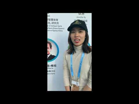 Mandatum Sports CEO Rodrigo Guerra @ IDG Sports Culture Expo. in Guangzhou, China 2020.