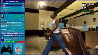 GTA San Andreas Any% Speedrun Attempt - Hugo_One Twitch Stream - 9/30/2017