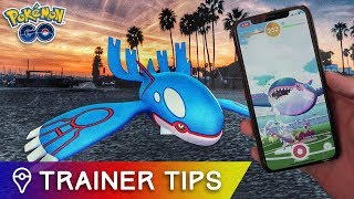 [ KYOGRE RAID GUIDE ] NEW LEGENDARY IN POKÉMON GO