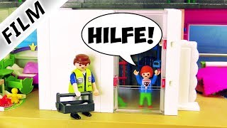 Playmobil Film deutsch   FÜR IMMER HAUSARREST! Julian wird eingemauert! Kinderserie Familie Vogel