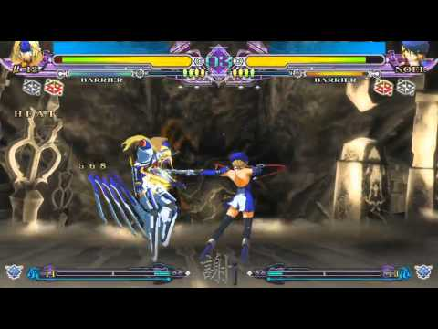 BlazBlue Continuum Shift Extend: Noel Vemillion vs Mu-12 |