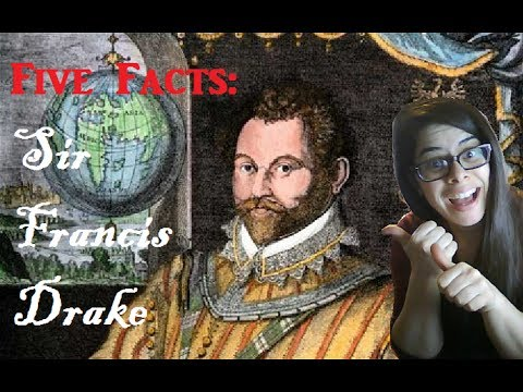 5 facts about sir francis drake day 4 veda 2014 youtube for Fun facts about drake