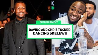 Davido And Chris Tucker Dancing Skelewu In France