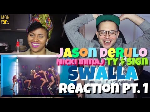 Thumbnail: Jason Derulo - Swalla (feat. Nicki Minaj & Ty Dolla $ign) Reaction Pt.1