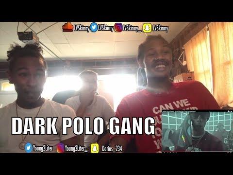 (Italian Rap) DARK POLO GANG - SPORTSWEAR (Prod. by Sick Luke)(Reaction Video)