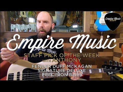 Fender Duff McKagen Deluxe Precision Bass – EMPIRE MUSIC