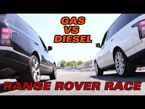 2018 Range Rover Showdown: Gas VS Diesel