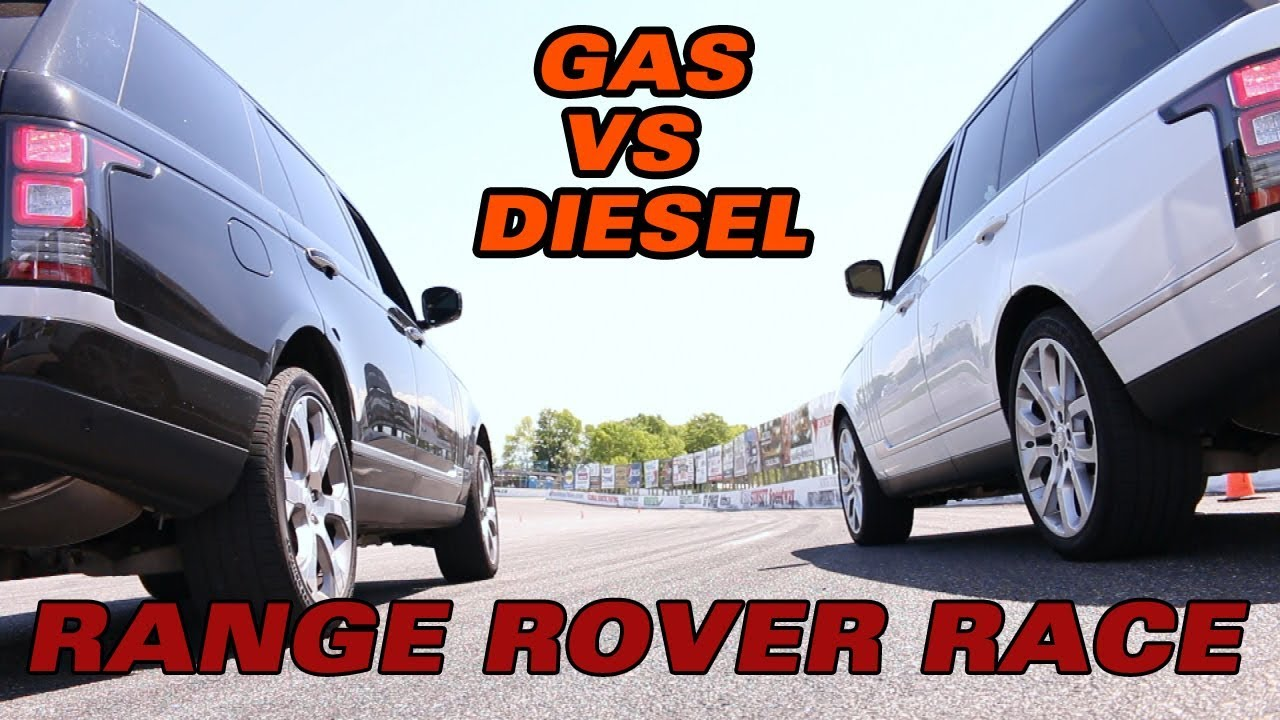2018 Range Rover Showdown Gas Vs Sel