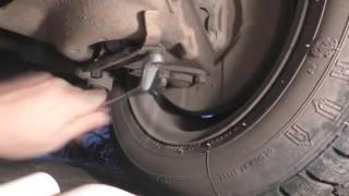 Как снять амортизатор ВАЗ передней подвески