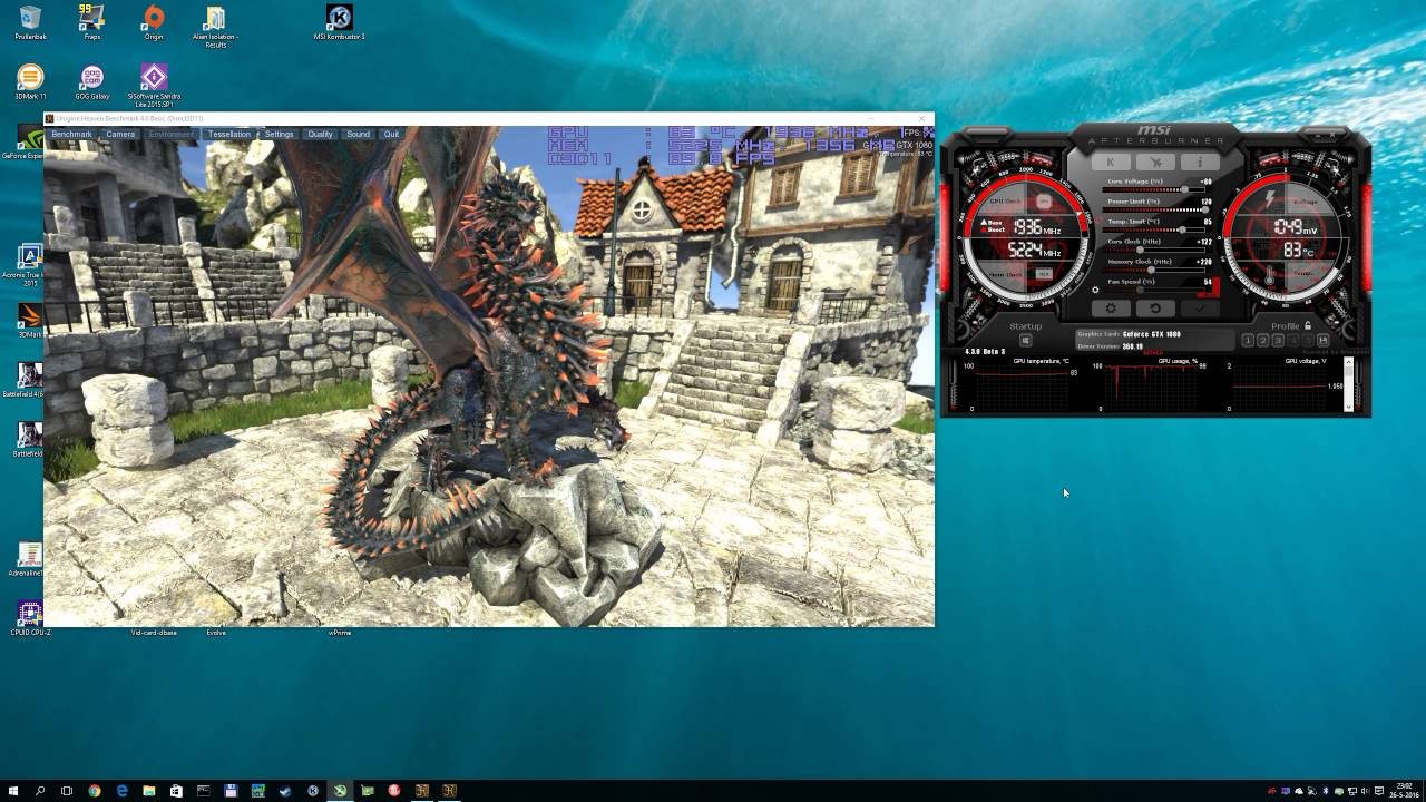 Overclocking GeForce GTX 1080 with MSI AfterBurner 4 3 0 Beta 3 and Curve  based Frequency Tweaking