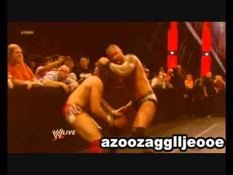 Randy Orton Kill Daniel Bryan HD 2014 راندي اورتن يدمر دانيل براين