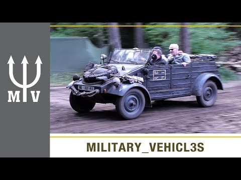 Nazi German VW Kubelwagen used by Wehrmacht and waffen SS