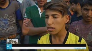 أطفال مخيم ديباجة يتمنون الالتحاق بصفوف الجيش العراقي