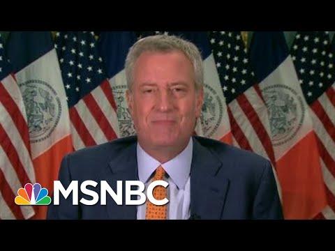 NYC Delays In-Person Classes, De Blasio Eyes Oct. 1 To Start | Morning Joe | MSNBC