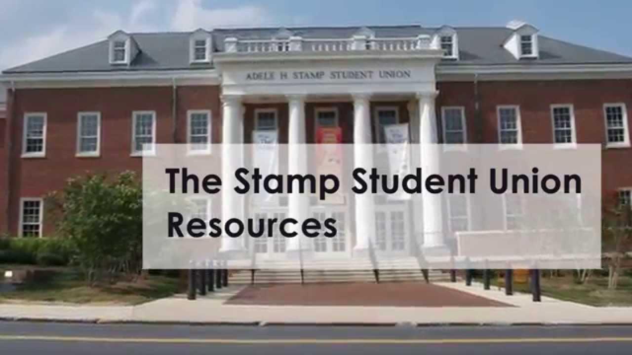 UMD Stamp Student Union