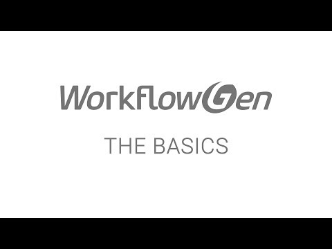 WorkflowGen - The Basics