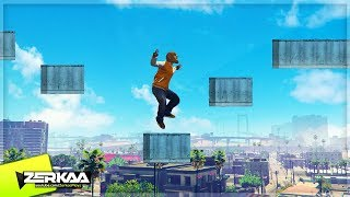BEAST PARKOUR IN THE CITY! (GTA 5)