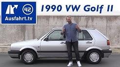1990 Volkswagen VW Golf II 1.8 Liter - Kaufberatung, Test, Review, Historie