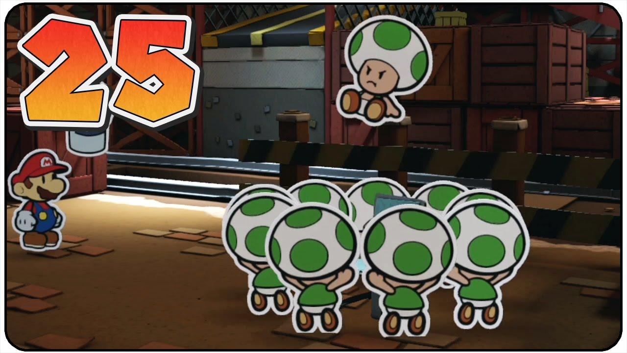 Paper Mario Color Splash - 100% Walkthrough Part 25 Toad ...