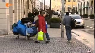 Obdachlos in Deutschland  Dokumentation 2014