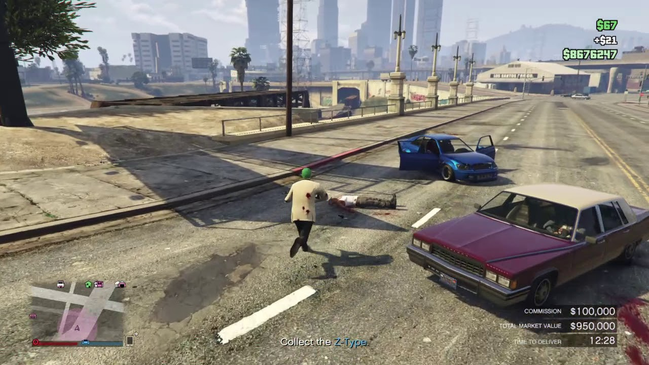 Gta Online Selling A Vehicle Import Export Dlc How To Prevent Damage From Npcs Youtube