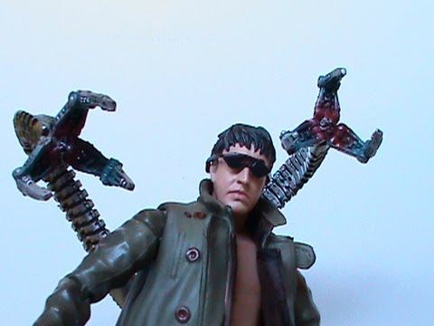 Spider Man 2 Movie Series Doctor Octopus 6 Inch Action Figure Review Youtube
