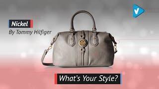 Tommy Hilfiger Handbag Jaden Satchel - Choose Your Favorite Colors