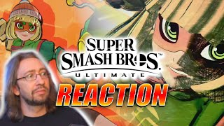 MAX REACTS: Min Min - Smash Ultimate Event & Trailer