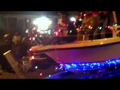 Brewer Yacht Sales at the Old Saybrook Torchlight Christmas Parade